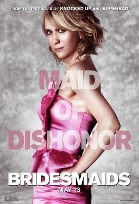 Character Poster USA per Bridesmaids (Le amiche della sposa) - Kristen Wiig