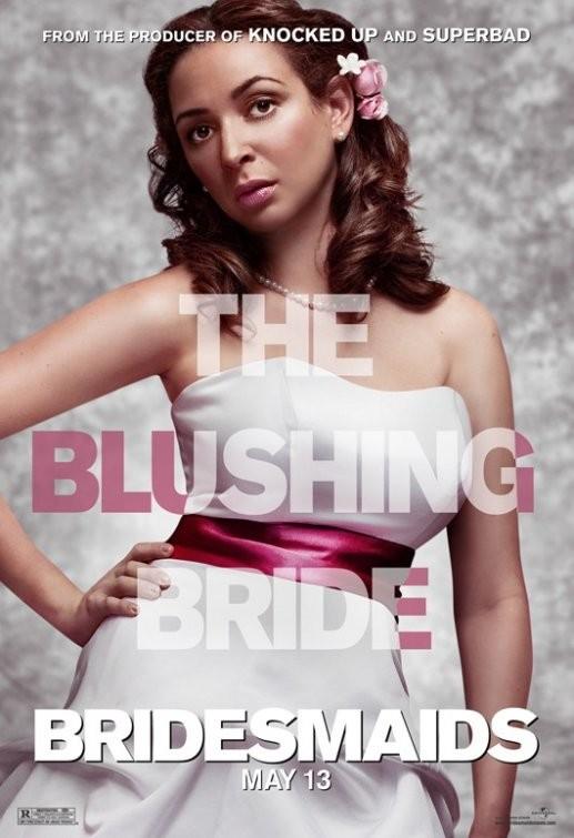 Character Poster USA per Bridesmaids (Le amiche della sposa) - Maya Rudolph