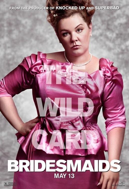 Character Poster USA per Bridesmaids (Le amiche della sposa) - Melissa McCarthy