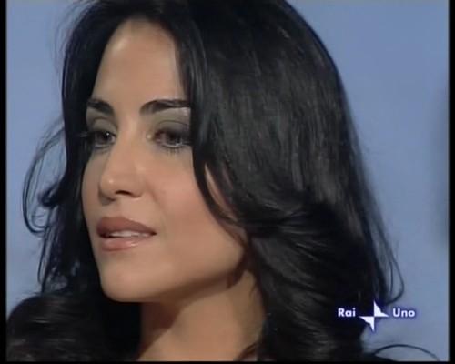 Emanuela Mulè ospite del programma Cinematografo condotto da Marzullo (RaiUno)