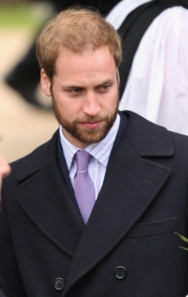 Il Principe William con un look insolito nel 2008