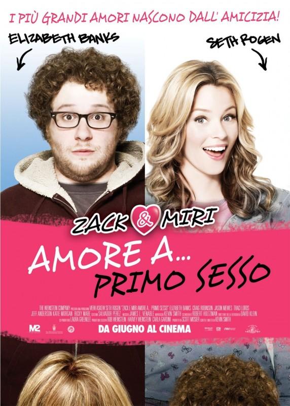 La locandina italiana di Zack & Miri - Amore a... primo sesso