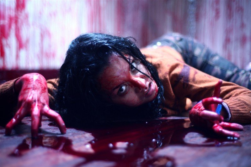 Una sequenza del film horror Seru