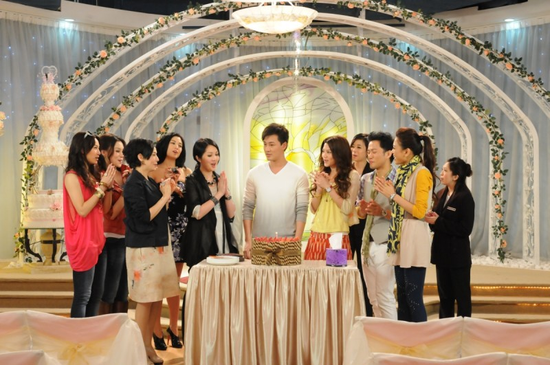 Una sequenza della commedia Perfect Wedding