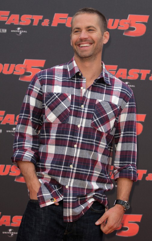 Paul Walker presenta il film Fast & Furious 5 a Roma
