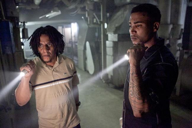 Tego Calderon e Don Omar in una scena di Fast & Furious 5