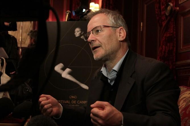 Thierry Frémaux presenta alla stampa parigina l'edizione 2011 di Cannes