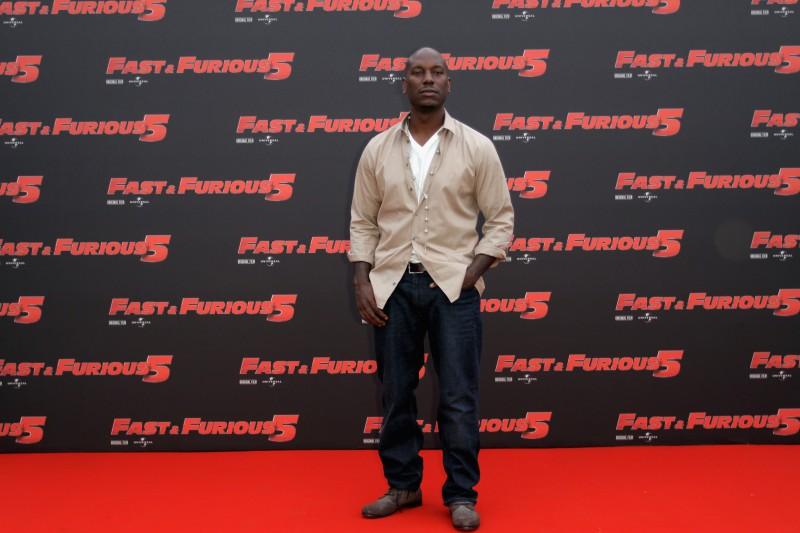 Tyrese Gibson presenta Fast & Furious 5 a Roma