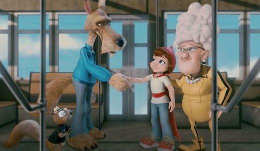 Una immagine del film d'animazione Hoodwinked 2: Hood vs. Evil