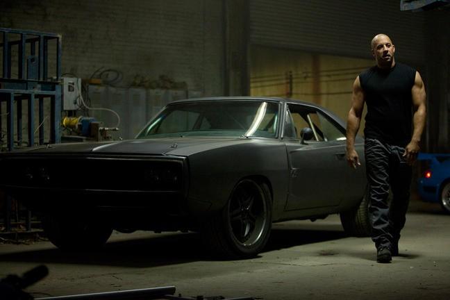 Vin Diesel in una immagine di Fast & Furious 5