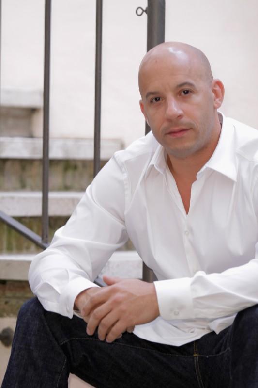 Vin Diesel presenta Fast & Furious 5 a Roma