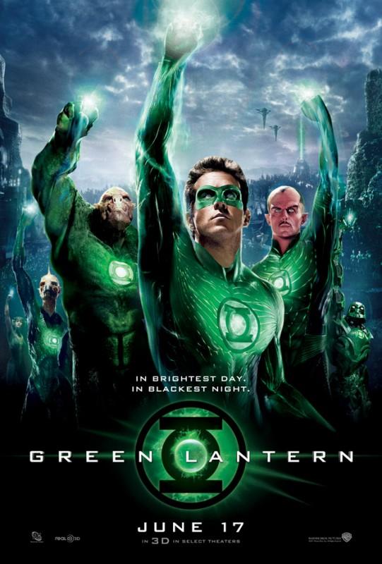 Nuova locandina corale di Lanterna verde