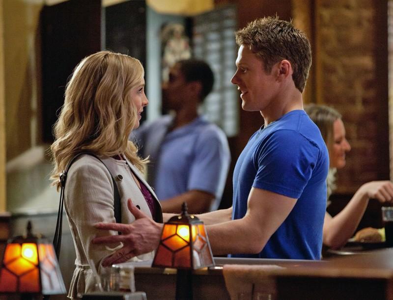 Candice Accola e Zach Roerig nell'episodio The Last Day di Vampire Diaries