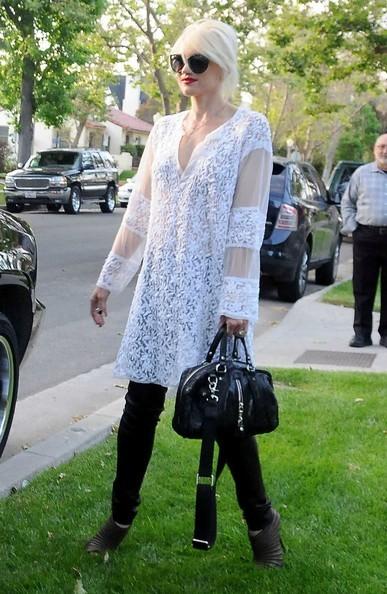 Gwen Stefani esce di casa con i figli la Domenica di Pasqua a Beverly Hills