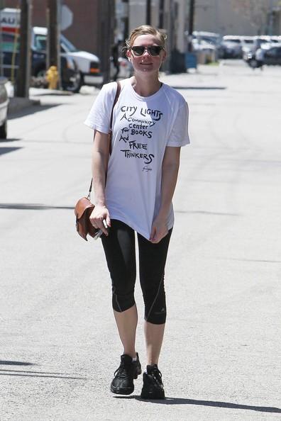 Kirsten Dunst lascia la Tracy Anderson Gym di Studio City