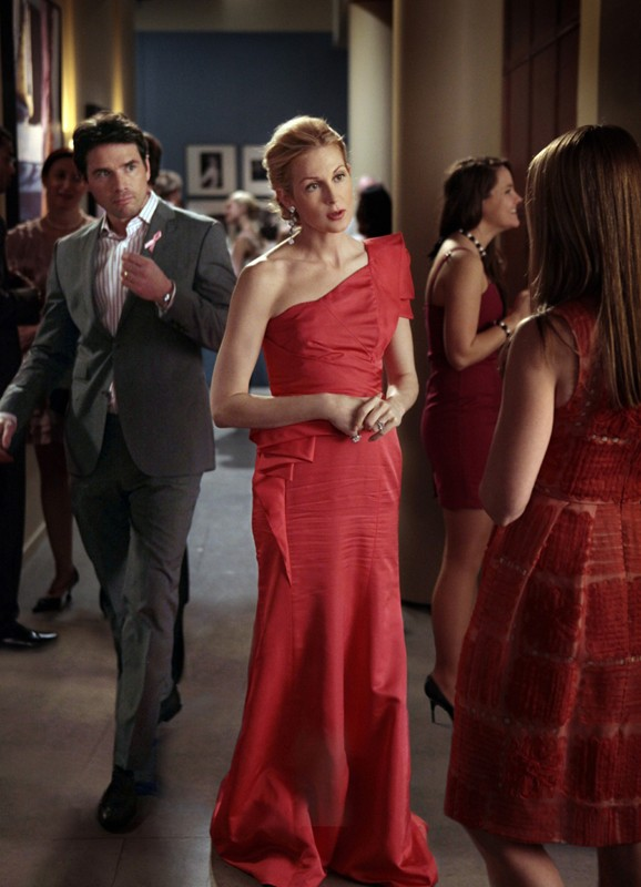 Matthew Settle e Kelly Rutherford nell'episodio Petty in Pink di Gossip Girl