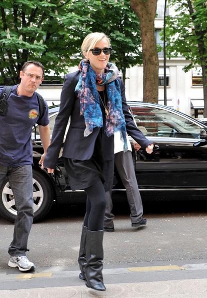 Reese Witherspoon arriva a Parigi per la premiere del suo film: Water for Elephants