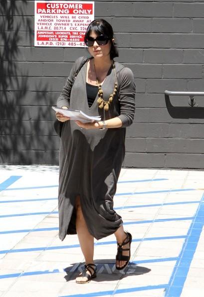 Selma Blair arriva in uno studio di Los Angeles