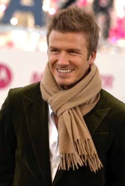 Un sorridente David Beckham