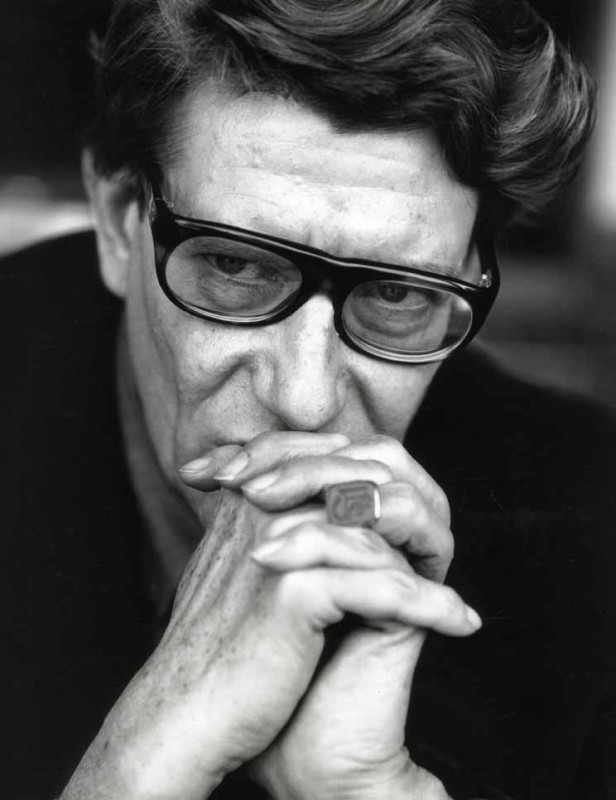 Una foto di Yves Saint-Laurent