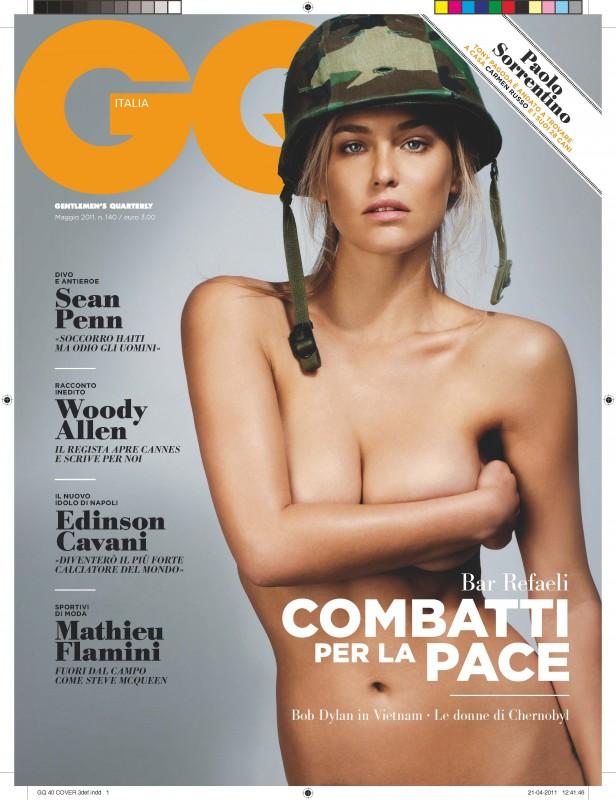 Bar Refaeli su GQ italiano di maggio 2011