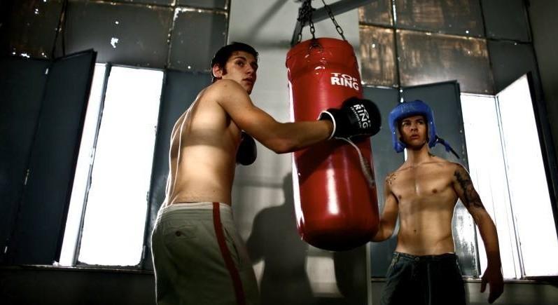 Clemente Russo e Carmine Recano in una scena del film TATANKA