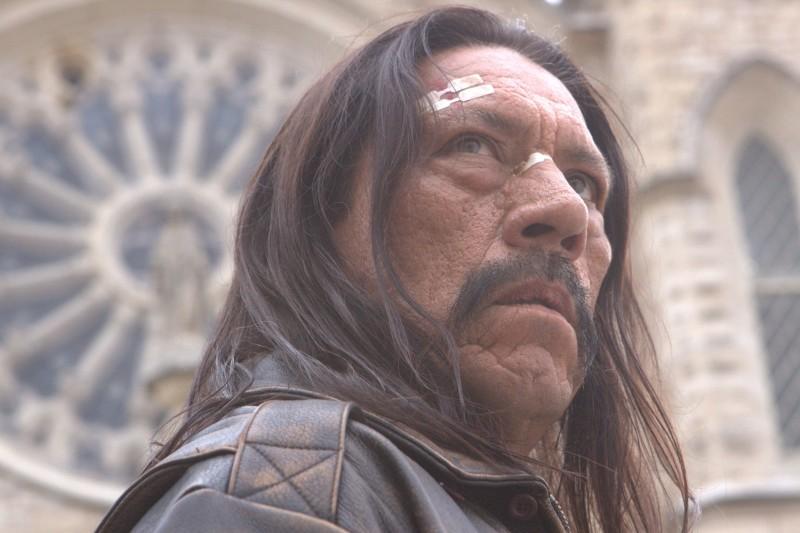 Danny Trejo di profilo nel film Machete