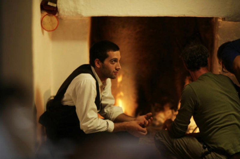 Francesco Chiarello in una scena del film Il primo incarico