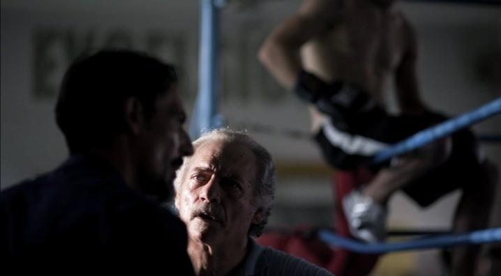 Giorgio Colangeli in una scena del film Tatanka