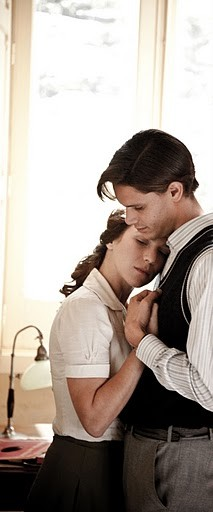 Isabella Ragonese con Alberto Boll nel film Il primo incarico