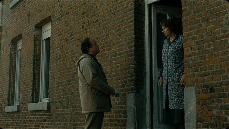 Jan Hammenecker con Yolande Moreau nel film Où va la nuit