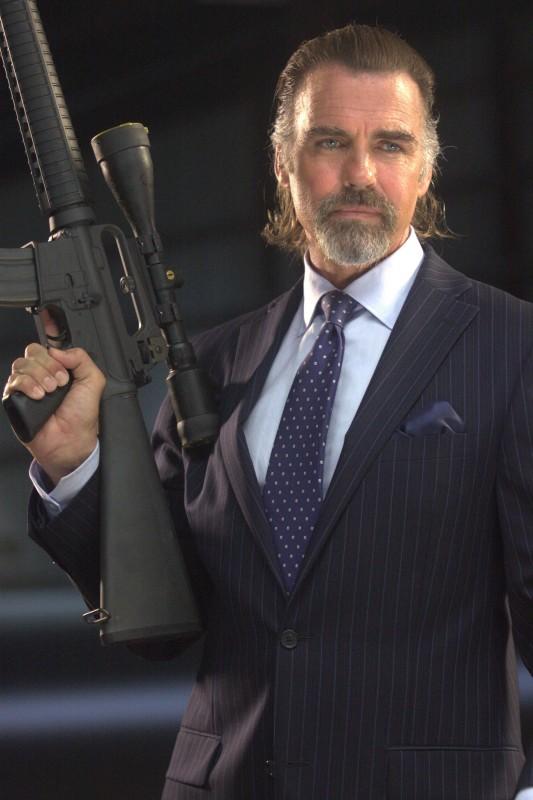 Jeff Fahey in una scena del film Machete