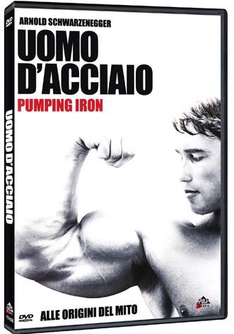 La copertina di Uomo d'acciaio - Pumpin Iron (dvd)