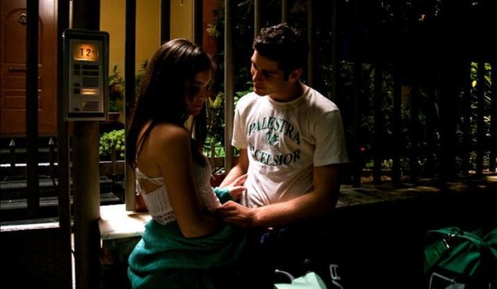 Luisa Di Natale ed Enzo Pane in una scena del film Tatanka