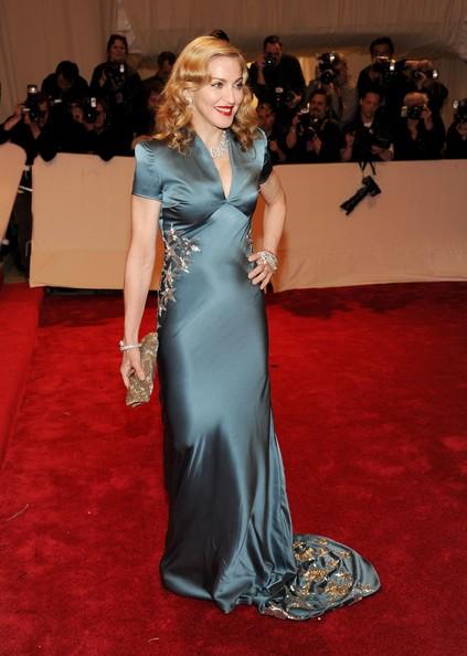 Madonna al gala in onore di Alexander McQueen, a New York, nel 2011