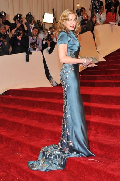 Madonna  al gala in onore di Alexander McQueen, 'Savage Beauty' tenutosi a New York, nel 2011