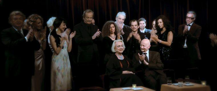Micheline Presle in una scena del film HH, Hitler à Hollywood