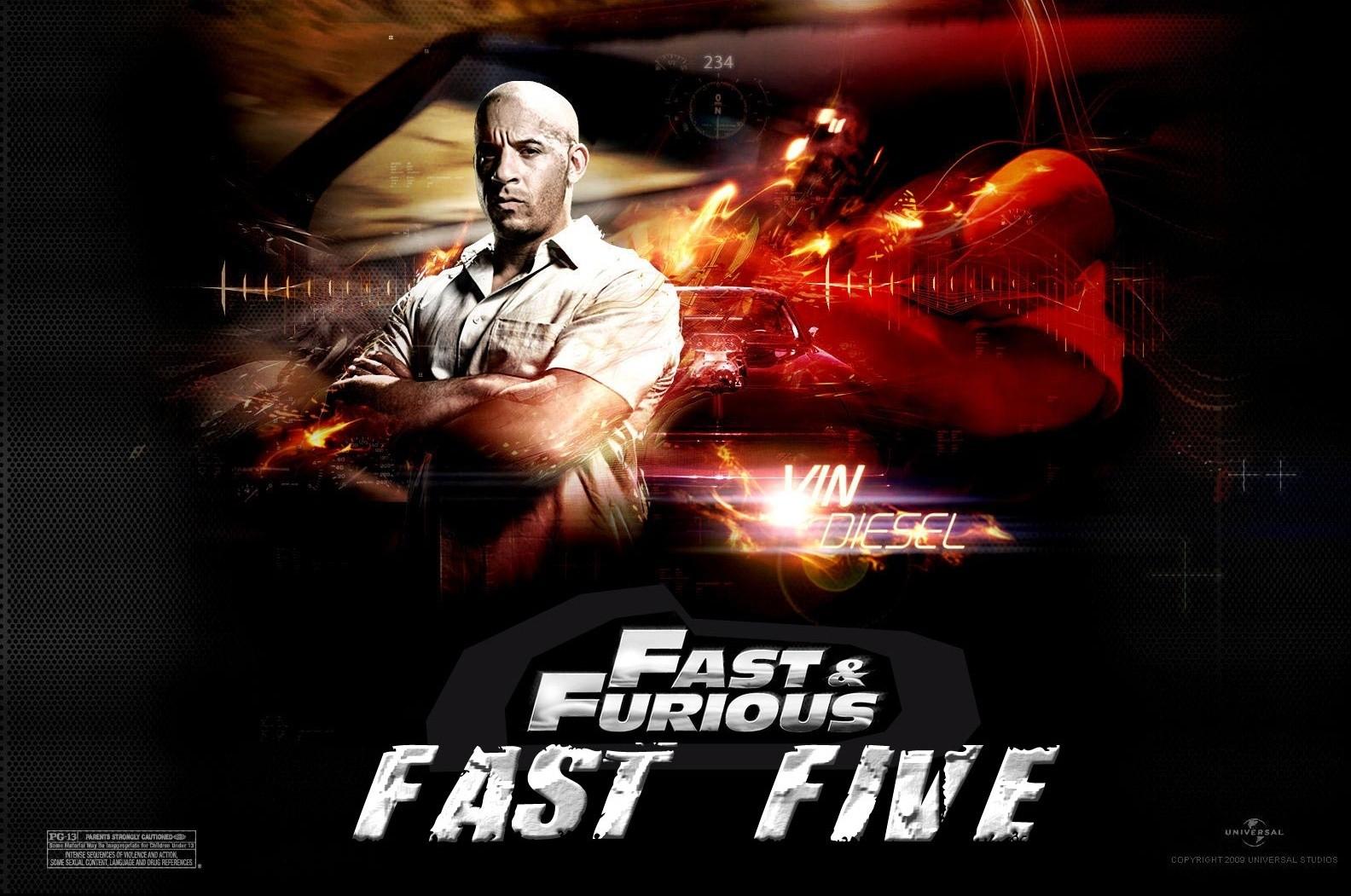 Wallpaper: Vin Diesel in Fast & Furious 5
