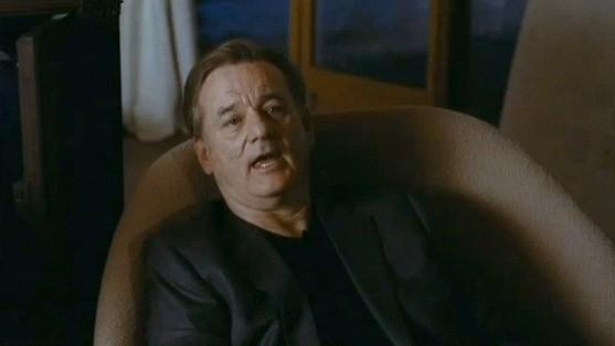 Bill Murray in un'immagine del film Passion Play