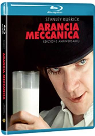 La copertina di Arancia meccanica - Edizione 40° anniversario (blu-ray)