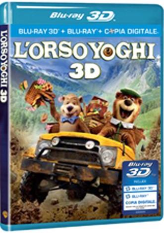 La copertina di L'orso Yoghi 3D (blu-ray)