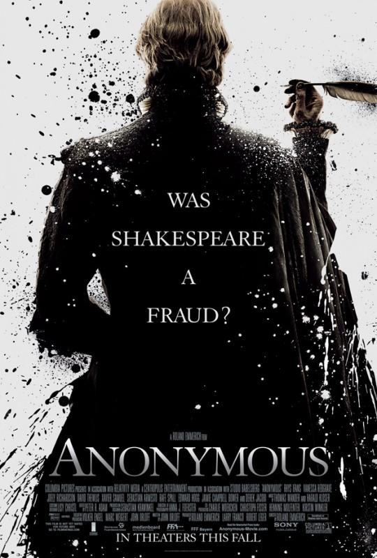 La locandina di Anonymous
