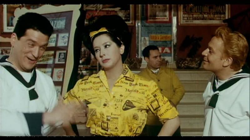 Noschese nella commedia Obiettivo ragazze, del '63
