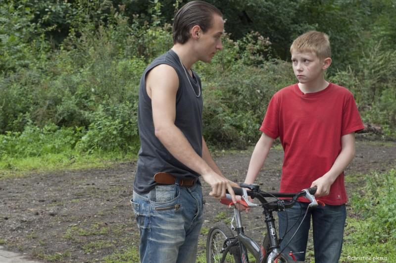 Thomas Doret  ne Il ragazzo con la bicicletta dei registi Dardenne