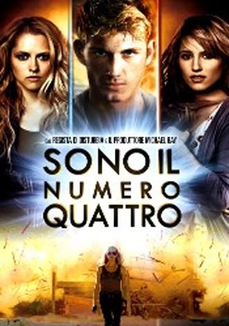 La copertina di Sono il numero quattro (dvd)