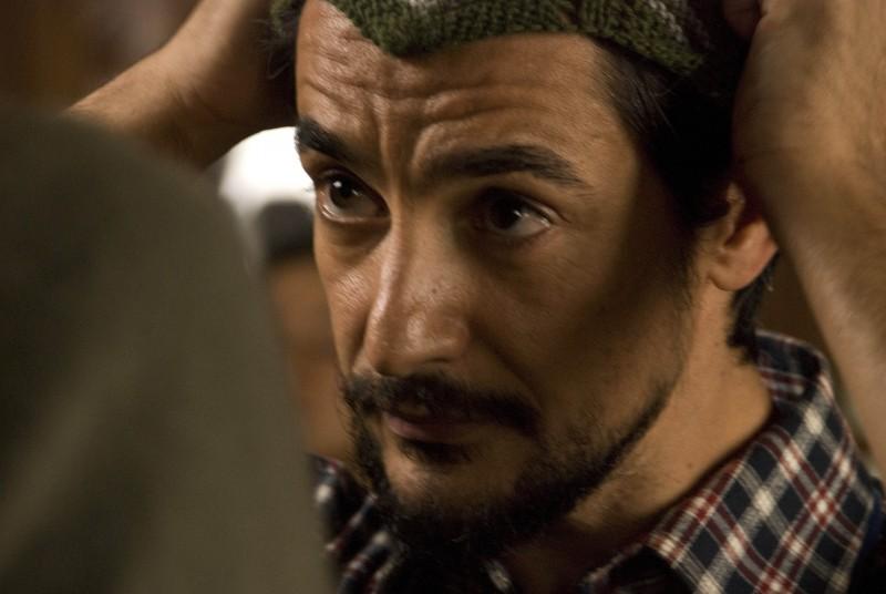 Peppino Mazzotta in un'immagine del film La misura del confine