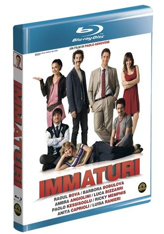 La copertina di Immaturi (blu-ray)