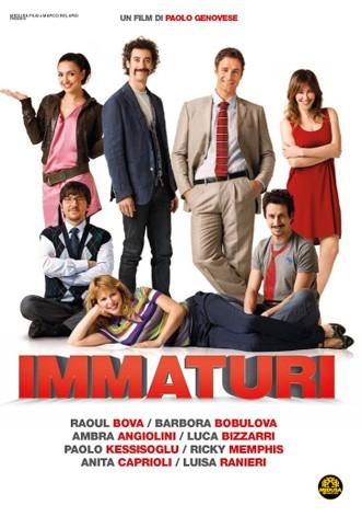La copertina di Immaturi (dvd)