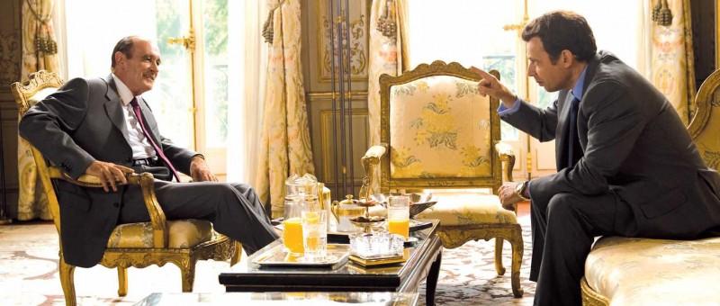 Bernard Le Coq con Denis Podalydès nel film La conquête