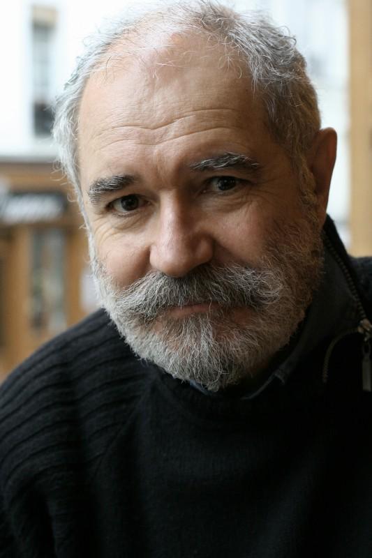 Christian Rouaud sul set del film Tous Au Larzac